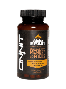 Alpha Brain nootropic supplement