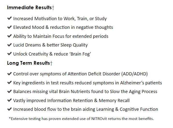 nitrovit-benefits