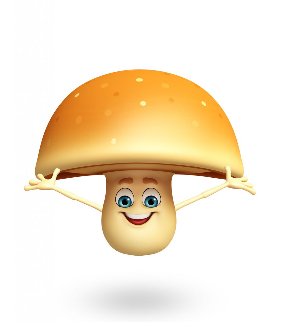 This mushroom looks like a really fun guy. Get it? Fun guy? ::tap tap:: Is this thing on?