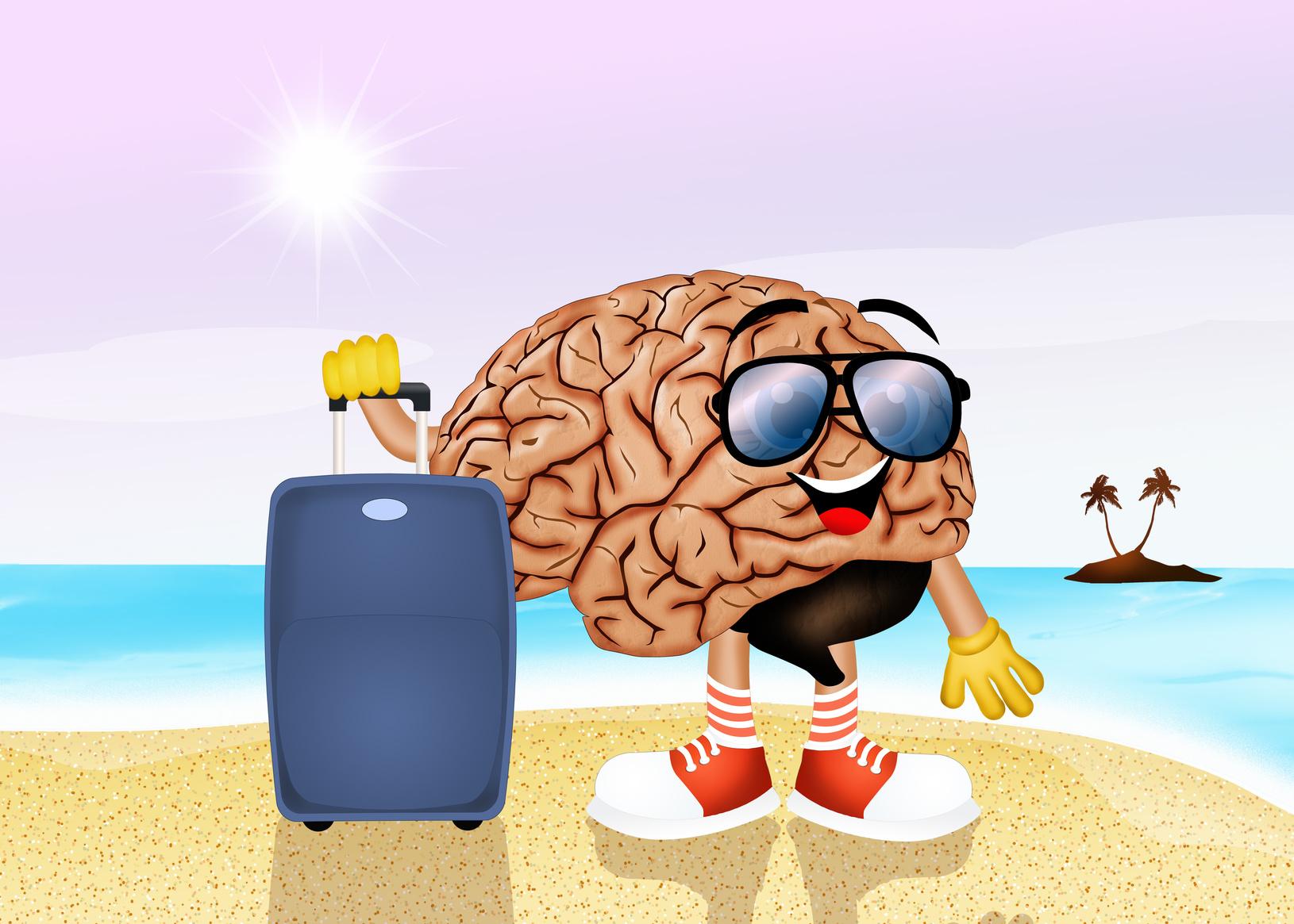 Картинка мозг отдыхает или
