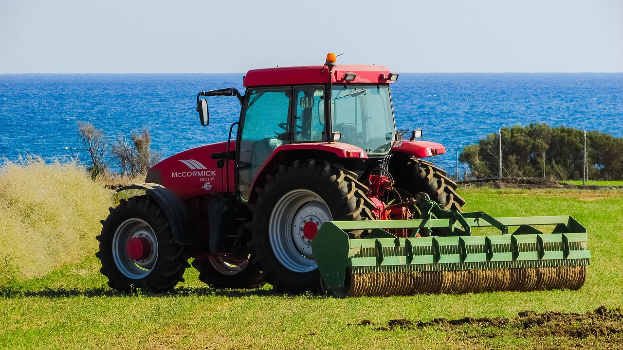 Nothing sexier than the tractor.
