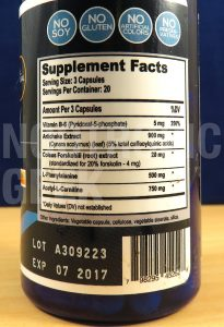 ciltep-supplement-facts
