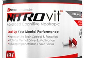 NITROvit Review – Decent Cognitive Support for Go-Getters & Try-Hards
