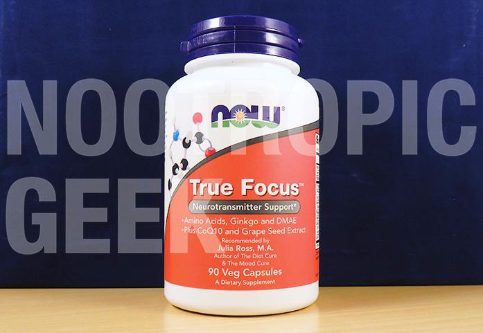 NOW True Focus Review - Neurotransmitter Support & Antioxidants for