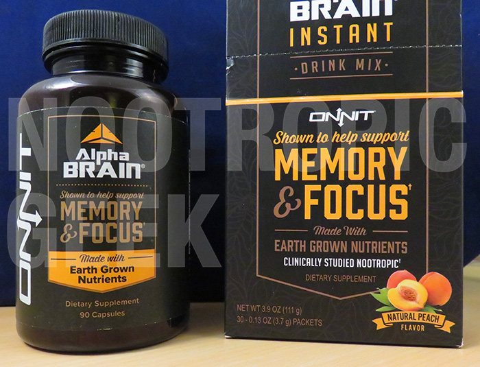 Alpha Brain Vs Alpha Brain Instant Nootropic Geek