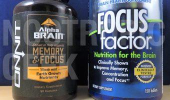 Alpha BRAIN vs. Focus Factor