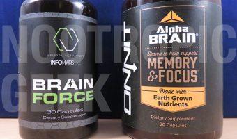 Brain Force vs. Alpha BRAIN