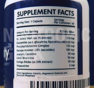 neuro-clarity-supplement-facts