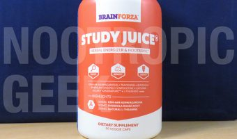 Study Juice Review – Premium, Caffeinated Brain Boosters for the Students, Geeks, & Gamers