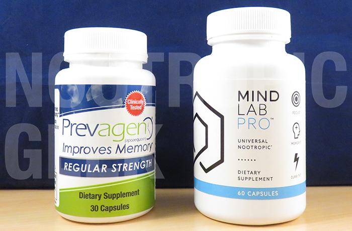 Prevagen vs  Mind Lab Pro - Nootropic Geek