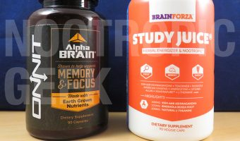 Alpha BRAIN vs. Study Juice
