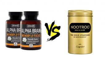 nootroo vs. alpha brain