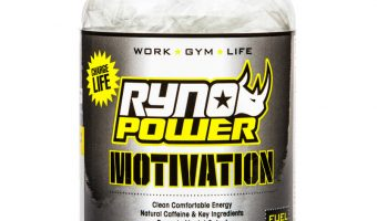 Ryno Power Motivation Review – Pre-Workout Energy Drink Pills, No Sugar