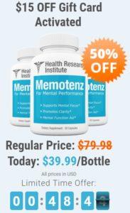 Memotenz Price