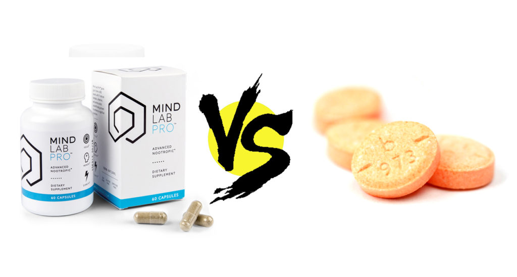 Mind Lab Pro vs. Adderall