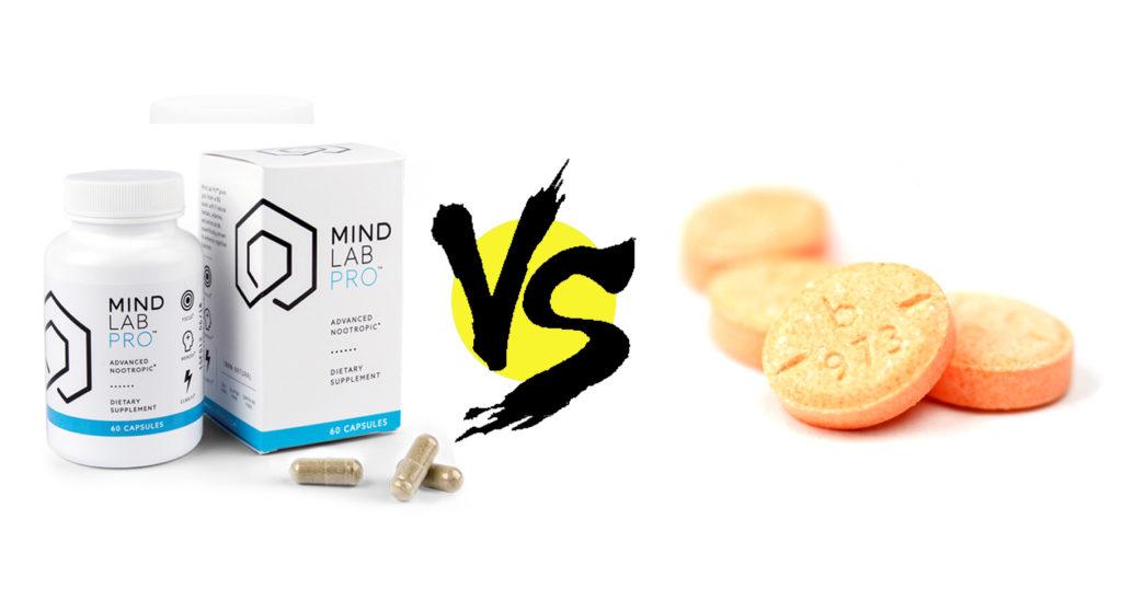 Mind Lab Pro vs. Adderall