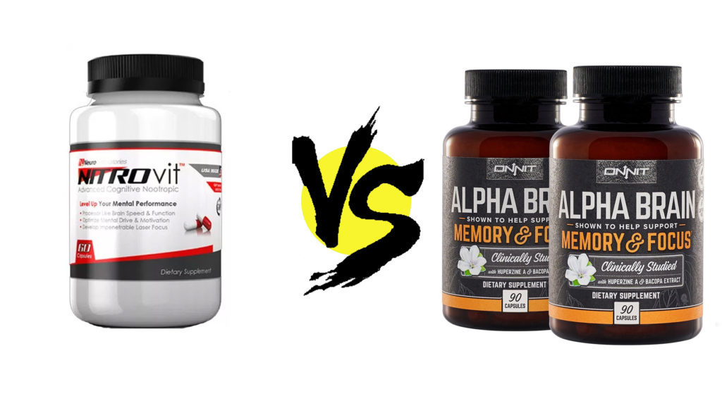 NITROvit vs. Alpha BRAIN