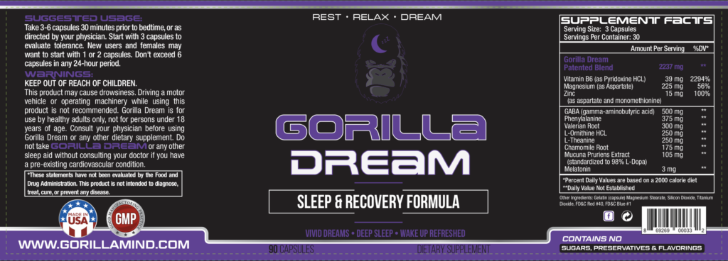 gorilla dream label