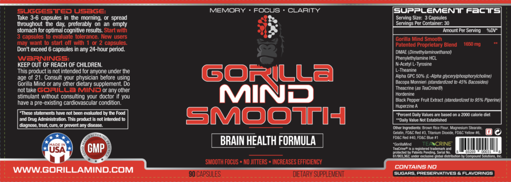 gorilla mind smooth label