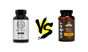 Qualia Focus vs. Alpha BRAIN