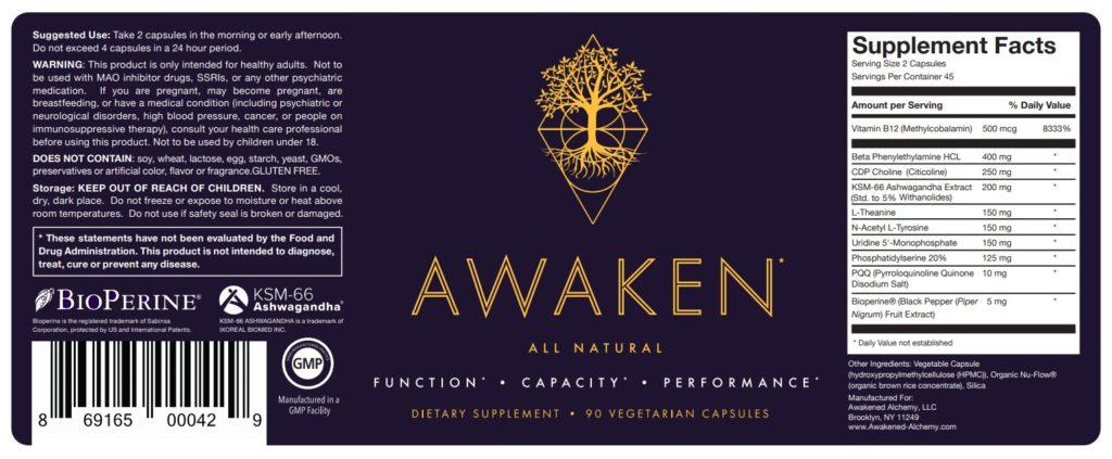 awaken label