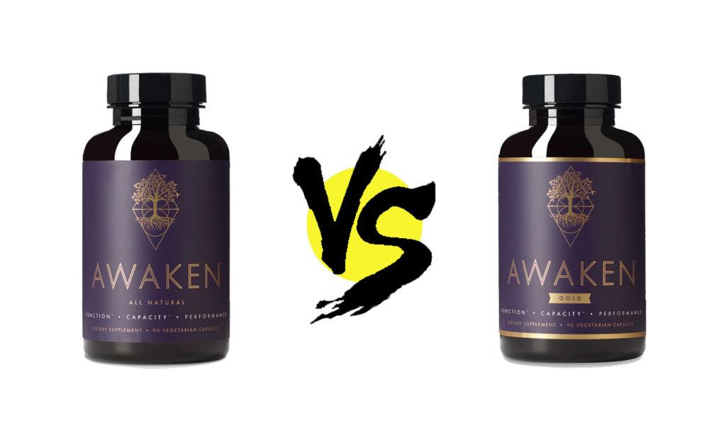 awaken vs. awaken gold
