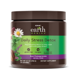 gnc earth genius daily stress detox review