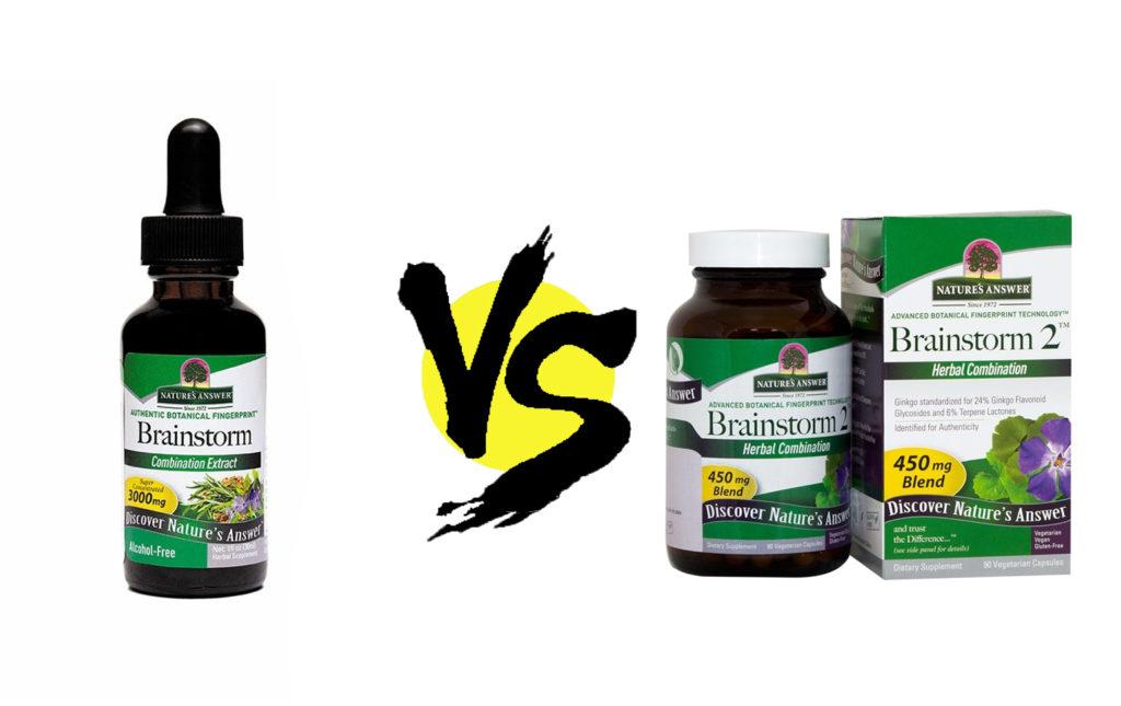 nature's answer brainstorm vs. brainstorm 2