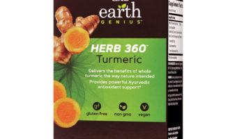 GNC Earth Genius Herb 360 Turmeric Review – All Turmeric, No Pepper