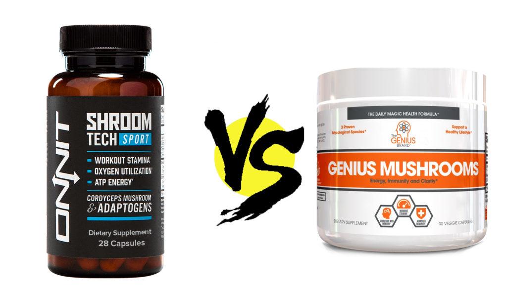 shroom tech sport vs. genius mushroom