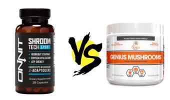 Shroom TECH Sport vs. Genius Mushrooms