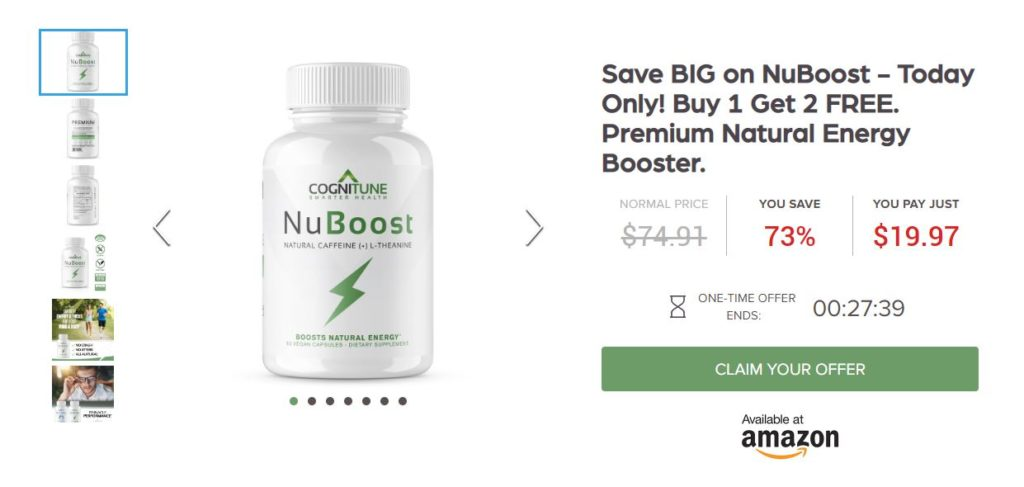nuboost pricing