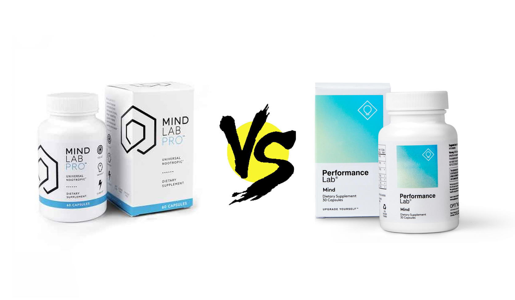 Mind Lab Pro vs  Performance Lab Mind - Nootropic Geek