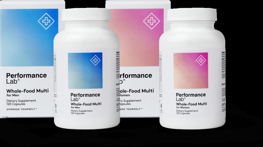 performance lab whole-food multi
