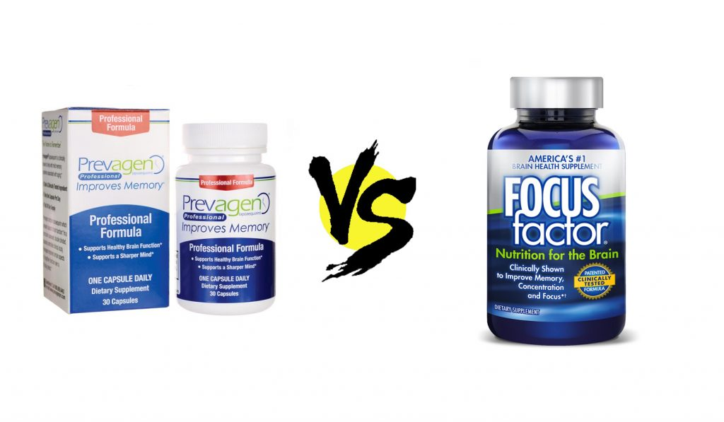 prevagen vs. focus factor