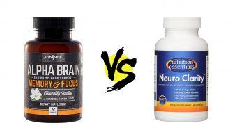 alpha brain vs. neuro clarity nootropic geek