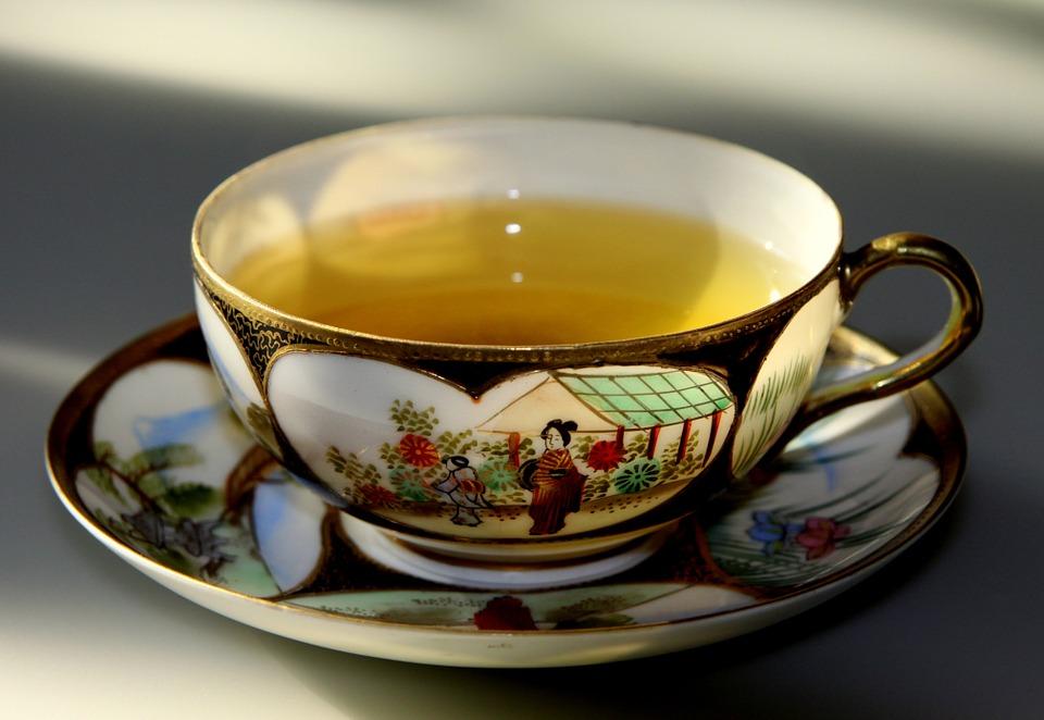 warm cup tea