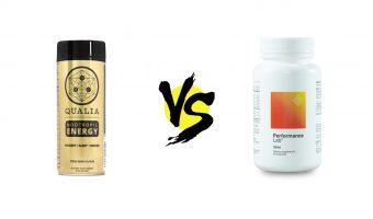 qualia nootropic energy vs. performance lab stim