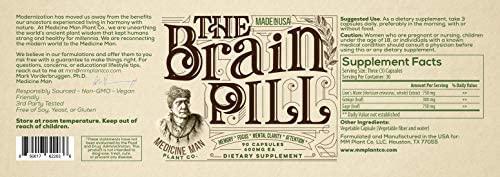 the brain pill label
